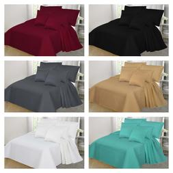2/3 PC Stippling Stitch Bed Dressing Bedding Quilt Set Bedsp