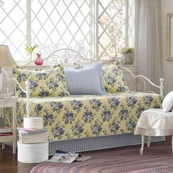 Laura Ashley 5-Piece Linley Daybed Cover Set