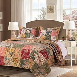 Greenland Home Antique Chic 100% Cotton Authentic Patchwork