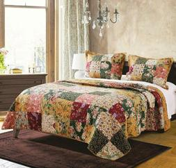 Greenland Home Antique Chic King Quilt Set