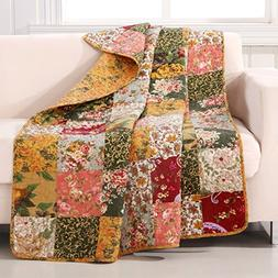 Greenland Home Fashions Antique Chic - 50W x 60L in. Quilted