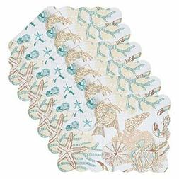 C&F Home Key Biscayne Cotton Quilted Oblong