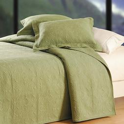 C&F Home Matelasse Quilted Euro Sham in Sage