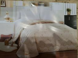 Devonshire Collection Camel Quilt Wool & Silk in Luxury Gift