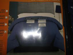 DOCTOR WHO TARDIS POLICE BOX BLUE KING SIZE BED MICROFIBER C