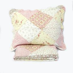 Gold Coast Essence of Spring 2 Piece Quilt Set - Twin