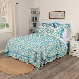 floral bed quilt king queen twin patchwork