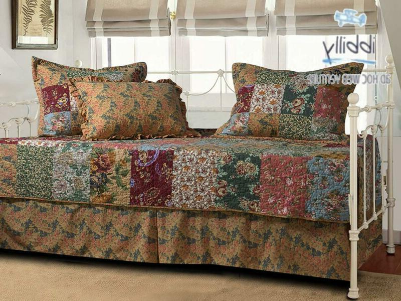 Greenland Home Antique 5-Piece Daybed Set