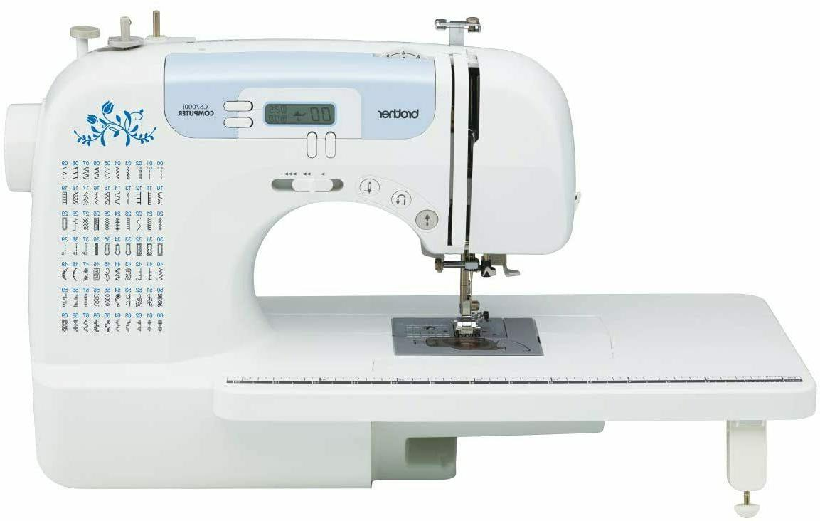 brand new cs7000i sewing and quilting machine