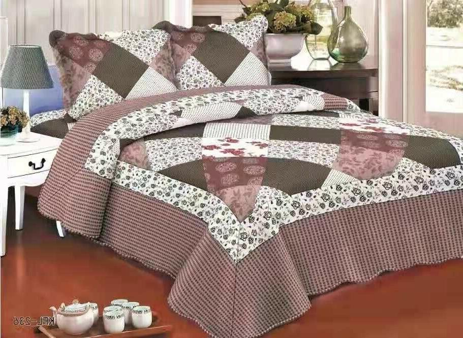 Quilted Bedspread Queen/King/Cal King