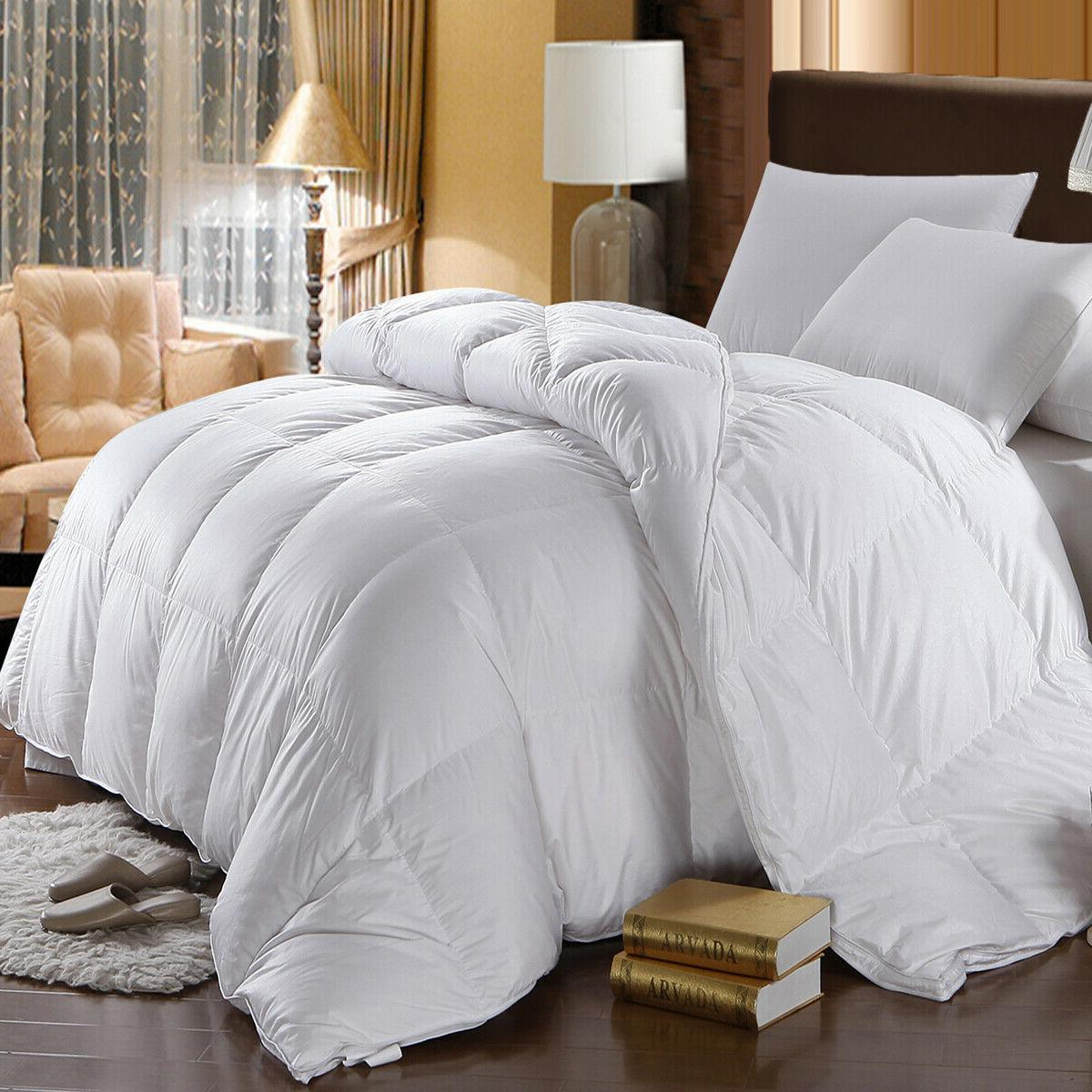 ultra soft all season quilted hotel down
