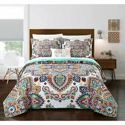 Maha Bed In a Bag Quilt Set by Chic Home