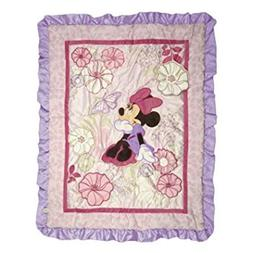 Minnie Mouse Butterfly Dreams 5 Piece Baby Crib Bedding Set