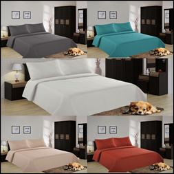 NEW All Seasons Coverlet Bed Top Dressing Bedding Quilted Be