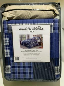 *NEW* Eddie Bauer Home 4-Piece Quilt Set, Eastmont Full/Quee