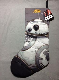 NEW w/ Tag Disney Star Wars BB-8 Full Size Quilted Christmas