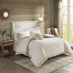 Madison Park Phoebe 4 Piece Quilted Comforter Set