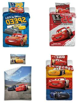 DISNEY PIXAR CARS McQueen Single Duvet Cover Quilt Cover Bed