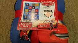 Disney/Pixar Cars Twin Full Sized Hand Stitched Patchwork Qu