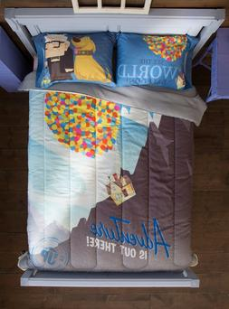 Disney Pixar UP Balloon House Bedding Blanket Comforter & Pi