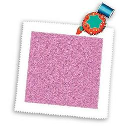 3dRose qs_123426_7 Girly Pink Sparkly Art-Quilt Square, 18 b