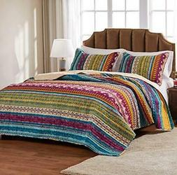 Greenland Home Fashions Southwest Quilt Set