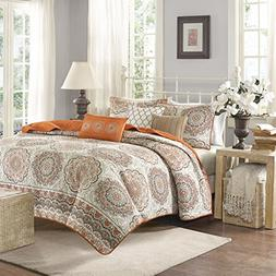 Madison Park Tangiers King/Cal King Size Quilt Bedding Set -
