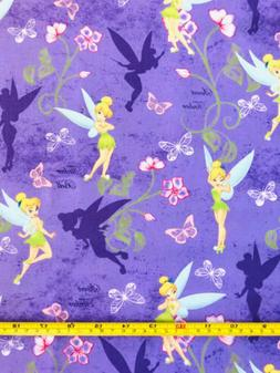 tinkerbell butterfly fabric 100 percent cotton quilts