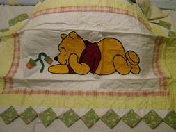 Disney Winnie the Pooh Quilted Pillow Shams King Size Set of